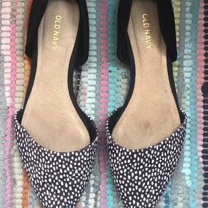 Black and White Old Navy Flats
